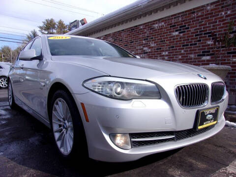 2011 BMW 5 Series for sale at Certified Motorcars LLC in Franklin NH
