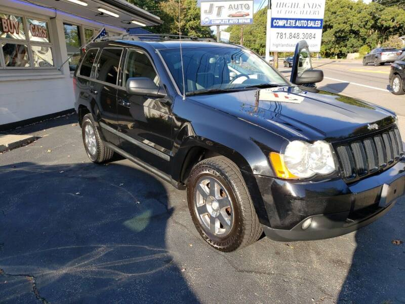 2008 Jeep Grand Cherokee for sale at Highlands Auto Gallery in Braintree MA