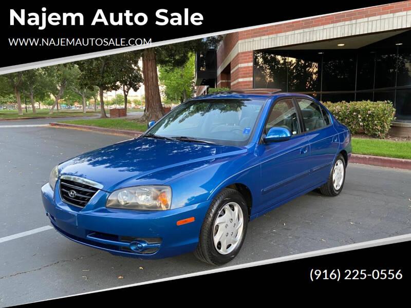 2006 Hyundai Elantra for sale at Najem Auto Sale in Sacramento CA