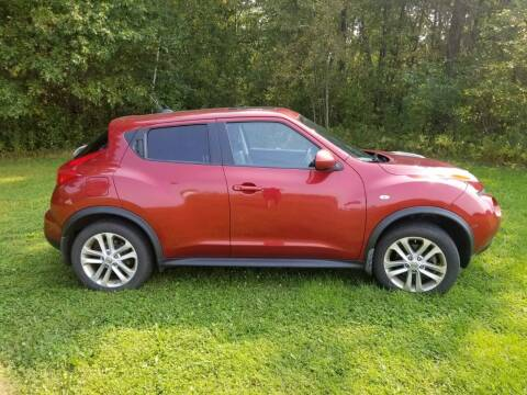 2012 Nissan JUKE for sale at Clairemont Motors in Eau Claire WI