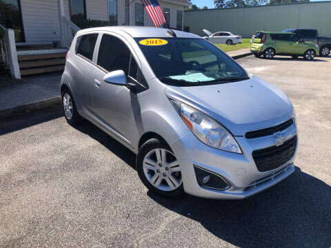 2015 Chevrolet Spark for sale at J. MARTIN AUTO in Richmond Hill GA