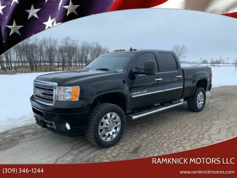 2014 GMC Sierra 2500HD for sale at RamKnick Motors LLC in Pekin IL