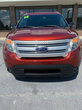 2014 Ford Explorer for sale at Greenville Motor Company in Greenville NC