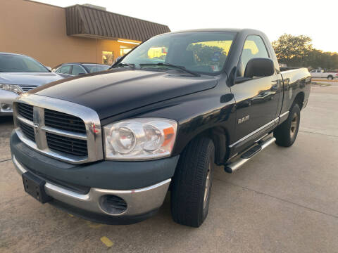 2008 Dodge Ram Pickup 1500 for sale at Houston Auto Gallery in Katy TX