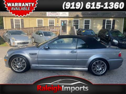 2005 BMW M3 for sale at Raleigh Imports in Raleigh NC