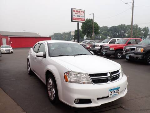 2011 Dodge Avenger for sale at Marty's Auto Sales in Savage MN