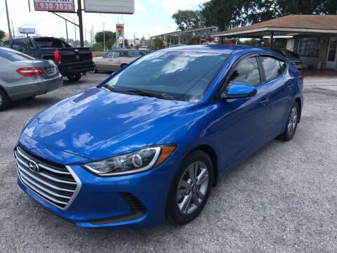 2018 Hyundai Elantra for sale at Reliable Motor Broker INC in Tampa FL