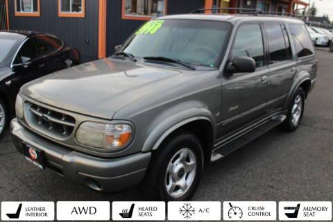 2000 Ford Explorer for sale at Sabeti Motors in Tacoma WA
