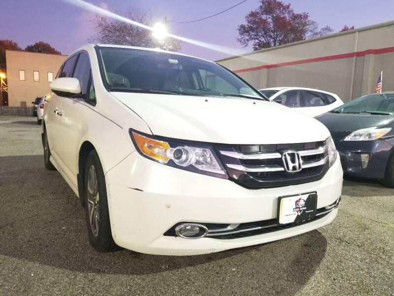 2017 Honda Odyssey for sale at Kingz Auto Sales in Avenel NJ
