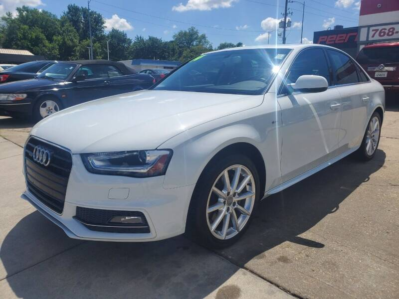 2014 Audi A4 for sale at Quallys Auto Sales in Olathe KS