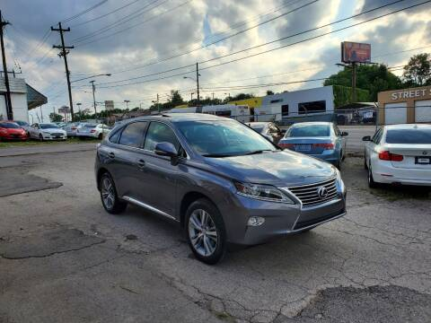 2015 Lexus RX 450h for sale at Green Ride Inc in Nashville TN