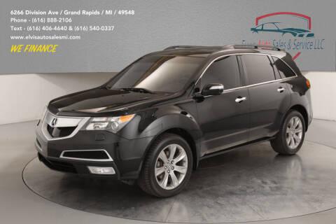 2011 Acura MDX for sale at Elvis Auto Sales LLC in Grand Rapids MI