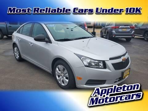2013 Chevrolet Cruze for sale at Appleton Motorcars Sales & Service in Appleton WI