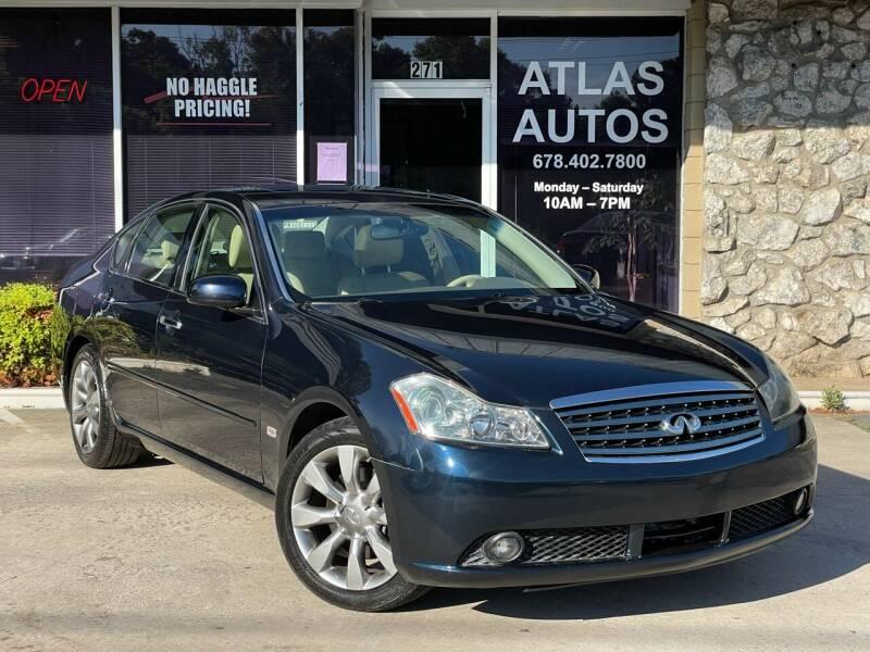 2007 Infiniti M35 for sale at ATLAS AUTOS in Marietta GA