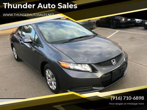 2012 Honda Civic for sale at Thunder Auto Sales in Sacramento CA