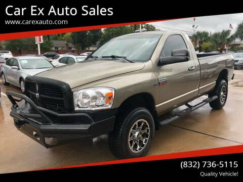 2009 Dodge Ram Pickup 2500 for sale at Car Ex Auto Sales in Houston TX
