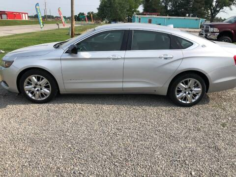 2014 Chevrolet Impala for sale at LYNDON MOTORS in Lyndon KS