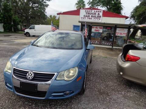 2008 Volkswagen Eos for sale at EAST LAKE TRUCK & CAR SALES in Holiday FL