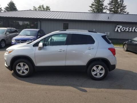 2017 Chevrolet Trax for sale at ROSSTEN AUTO SALES in Grand Forks ND