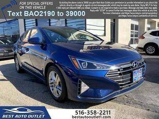 2020 Hyundai Elantra for sale at Best Auto Outlet in Floral Park NY