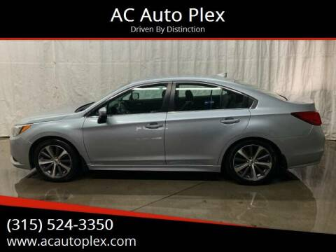 2016 Subaru Legacy for sale at AC Auto Plex in Ontario NY