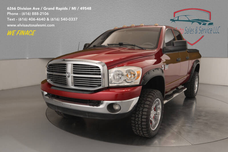 2008 Dodge Ram Pickup 2500 for sale at Elvis Auto Sales LLC in Grand Rapids MI