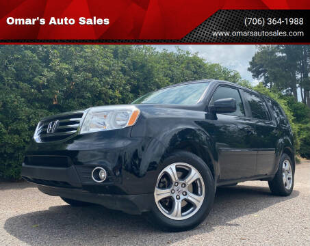 2015 Honda Pilot for sale at Omar's Auto Sales in Martinez GA