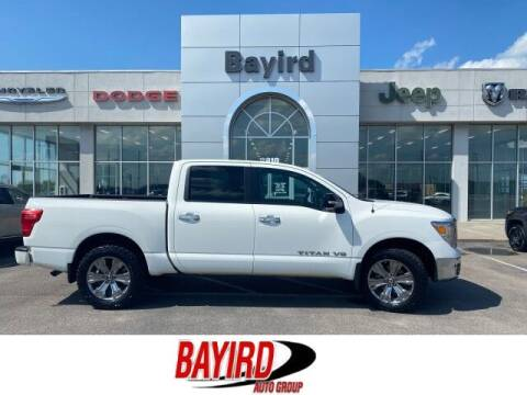 2018 Nissan Titan for sale at Bayird Truck Center in Paragould AR