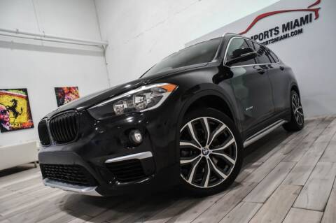2016 BMW X1 for sale at AUTO IMPORTS MIAMI in Fort Lauderdale FL