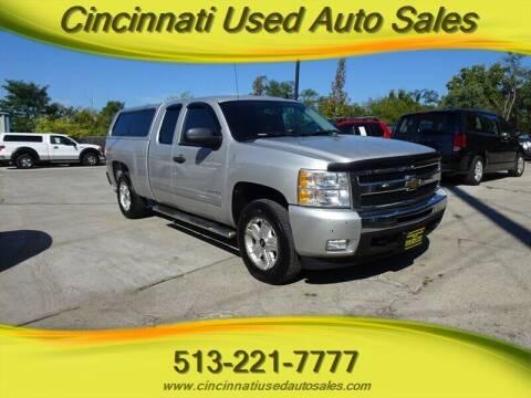 2010 Chevrolet Silverado 1500 for sale at Cincinnati Used Auto Sales in Cincinnati OH