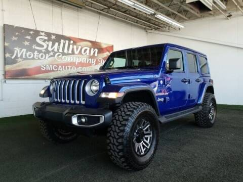 2018 Jeep Wrangler Unlimited for sale at SULLIVAN MOTOR COMPANY INC. in Mesa AZ