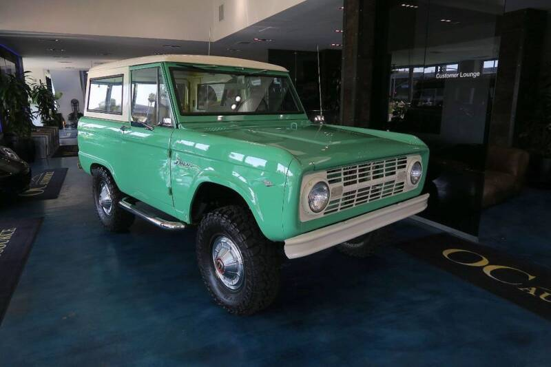 1967 Ford Bronco for sale at OC Autosource in Costa Mesa CA