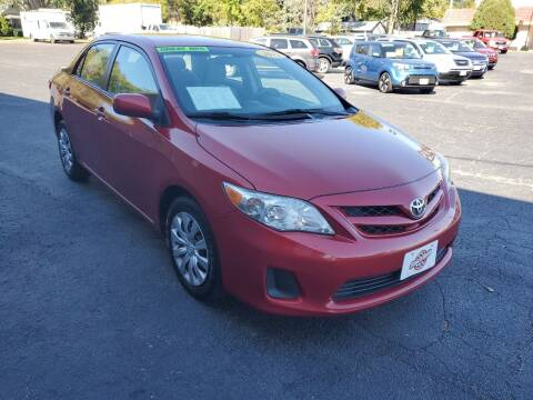 2012 Toyota Corolla for sale at Stach Auto in Janesville WI