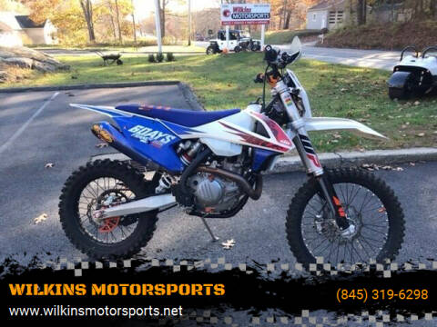 2018 KTM 500 EXC for sale at WILKINS MOTORSPORTS in Brewster NY