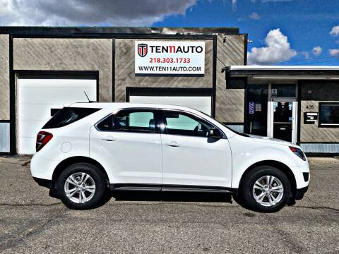 2016 Chevrolet Equinox for sale at Ten 11 Auto LLC in Dilworth MN