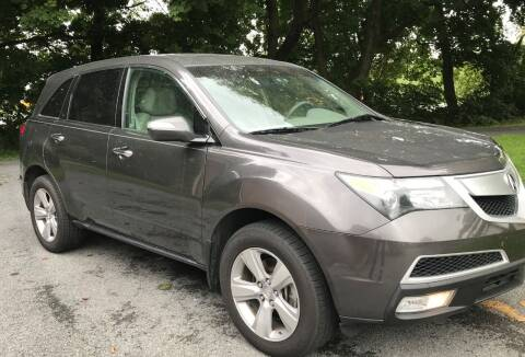 2010 Acura MDX for sale at LEB-MYER MOTORS in Lebanon PA
