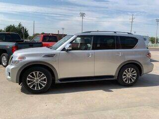2020 Nissan Armada for sale at J & S Auto in Downs KS