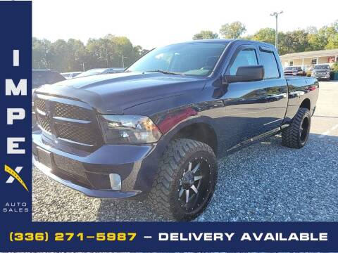 2014 RAM Ram Pickup 1500 for sale at Impex Auto Sales in Greensboro NC