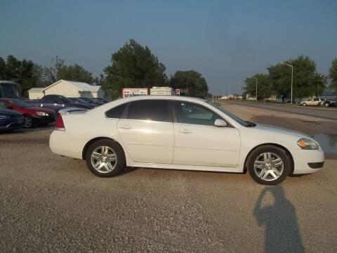 2011 Chevrolet Impala for sale at BRETT SPAULDING SALES in Onawa IA