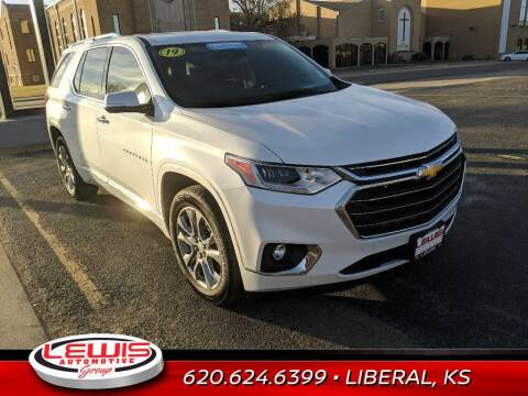 2019 Chevrolet Traverse for sale at Lewis Chevrolet Buick Cadillac of Liberal in Liberal KS