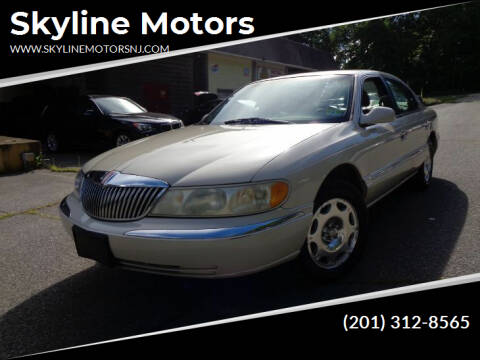 1999 Lincoln Continental for sale at Skyline Motors in Ringwood NJ