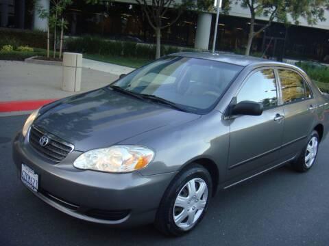 2008 Toyota Corolla for sale at UTU Auto Sales in Sacramento CA