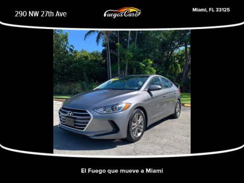2018 Hyundai Elantra for sale at Fuego's Cars in Miami FL