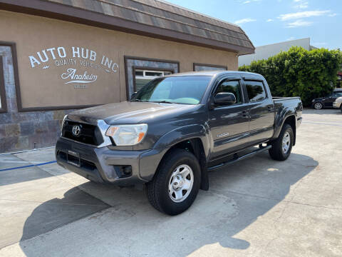 2012 Toyota Tacoma for sale at Auto Hub, Inc. in Anaheim CA