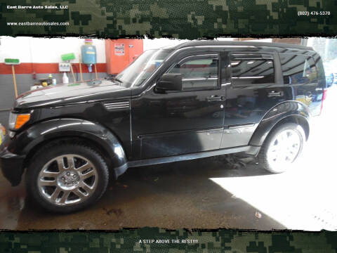 2010 Dodge Nitro for sale at East Barre Auto Sales, LLC in East Barre VT