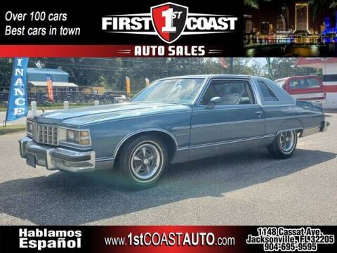 1977 Buick Others for sale at 1st Coast Auto -Cassat Avenue in Jacksonville FL