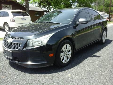 2014 Chevrolet Cruze for sale at John 3:16 Motors in San Antonio TX