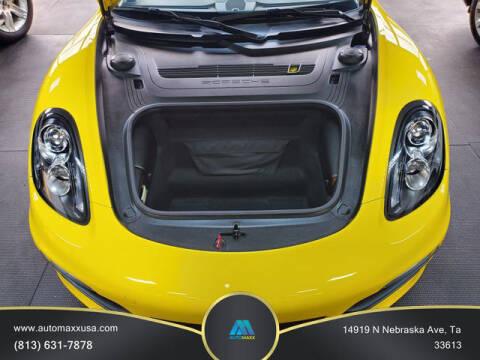 2013 Porsche Boxster for sale at Automaxx in Tampa FL
