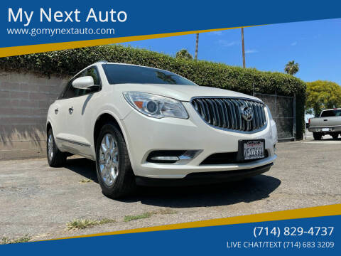 2014 Buick Enclave for sale at My Next Auto in Anaheim CA