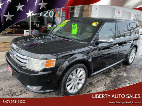 2012 Ford Flex for sale at Liberty Auto Sales in Elgin IL